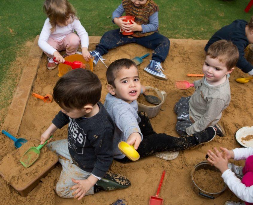 משחקים בארגז החול